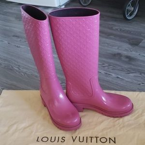 dad1f65c0a Louis Vuitton Shoes | Drops Flat Half Boot | Poshmark
